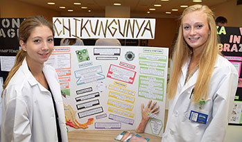 New Visions students host informative health fair