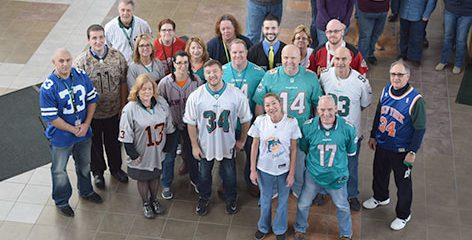 HFM wears jeans to support K9s for Warriors