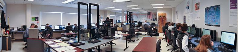 classroom panorama