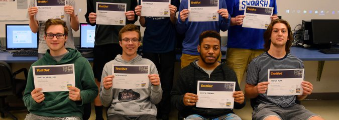 HFM Cybersecurity students ace industry certification exam