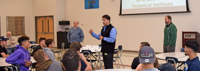Local employer gives CTE students insight on career success