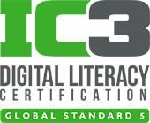 IC3 Digital Literacy logo