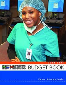 Cover shot of printer-friendly budget book